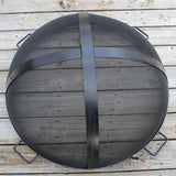 Fire Pit Art 44.5-Inch Outdoor Fire Pit Screen for Fireplace and Patio - SG-44.5 - Yardify.com