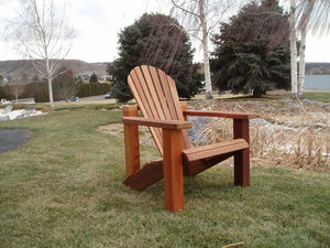 Wood Country Western Red Cedar Adirondack Chair - Welcome to Yardify