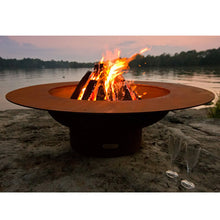 Load image into Gallery viewer, Fire Pit Art Magnum Handcrafted Carbon Steel Fire Pit (MAG), Fireplace - Yardify.com