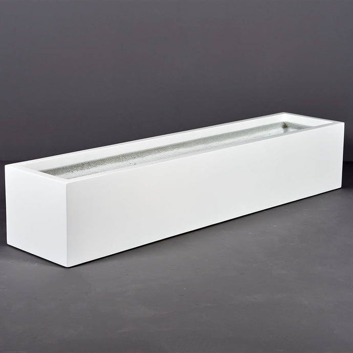 Narbonne Rectangular Fiberglass Planter Box: 65