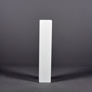 "Jay Scotts Britz Tall Tapered Square Fiberglass Planter: 12""L x 12""W x 51""H"