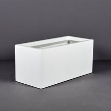 "Load image into Gallery viewer, Badalona Rectangular Fiberglass Planter Box: 39""L x 17""W x 17""H"