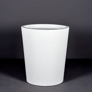 "Jay Scotts Pego Oval Round Planter: 22"" x 18"" x 30""H"