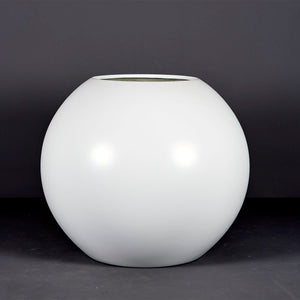 "Jay Scotts Globe Round Planter: 36"" x 30""H"