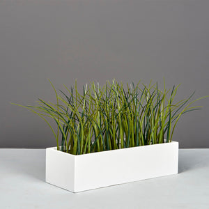 "Jay Scotts Reade Table Top Planter: 14"" x 5"" x 4.3""H"