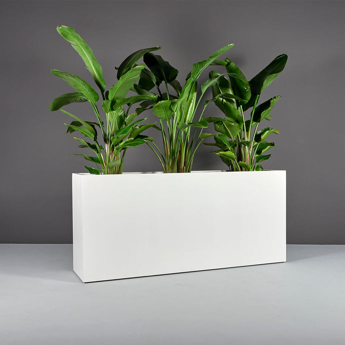 Potsdam Rectangular Fiberglass Planter Box: 48