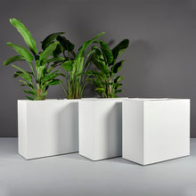 "Load image into Gallery viewer, Potsdam Rectangular Fiberglass Planter Box: 36""L x 16""W x 32""H"