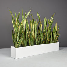 "Load image into Gallery viewer, Jay Scotts Wheeling Table Top Planter: 44"" x 7"" x 7""H"