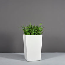 "Load image into Gallery viewer, Amsterdam Tapered Rectangular Fiberglass Planter: 16""L x 10""W x 26""H"