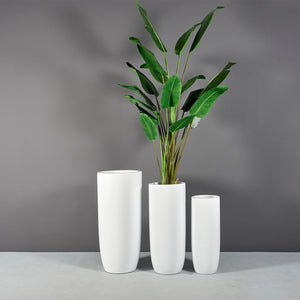 "Jay Scotts Saint Tropez Round Planter: 20"" x 43""H"