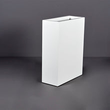 "Load image into Gallery viewer, Amesbury Narrow Rectangular Fiberglass Planter: 24""L x 10""W x 32""H"