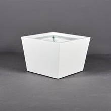 "Load image into Gallery viewer, Jay Scotts Bergen Square Fiberglass Planter: 24""L x 24""W x 17""H"