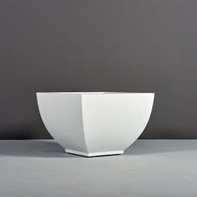 "Load image into Gallery viewer, Jay Scotts Kathryn Square Fiberglass Planter: 24""L x 24""W x 17""H"