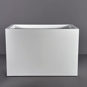 Granada Rectangular Fiberglass Planter Box