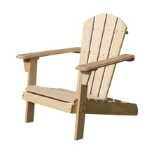 Load image into Gallery viewer, Unfinished Wooden Kid's Adirondack Chair Kit, Chair - Yardify.com