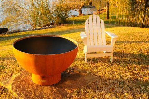Fire Pit Art Crater Fire Pit - CTR - Yardify.com