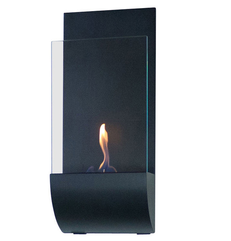 Torcia Wall-Mounted Ethanol-Burning Fireplace - Yardify.com