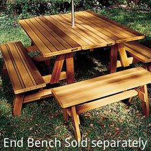Herman Wooden Convertible Table Set with Bench, Table - Yardify.com