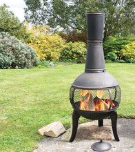 Load image into Gallery viewer, Tuscan Glo Cast Iron Chiminea, Chiminea - Yardify.com