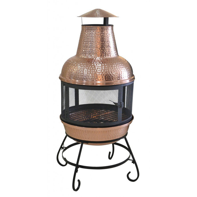 Cape Copper Chiminea, Chiminea - Yardify.com