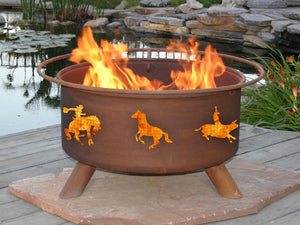 Western Fire Pit, Fireplace - Yardify.com