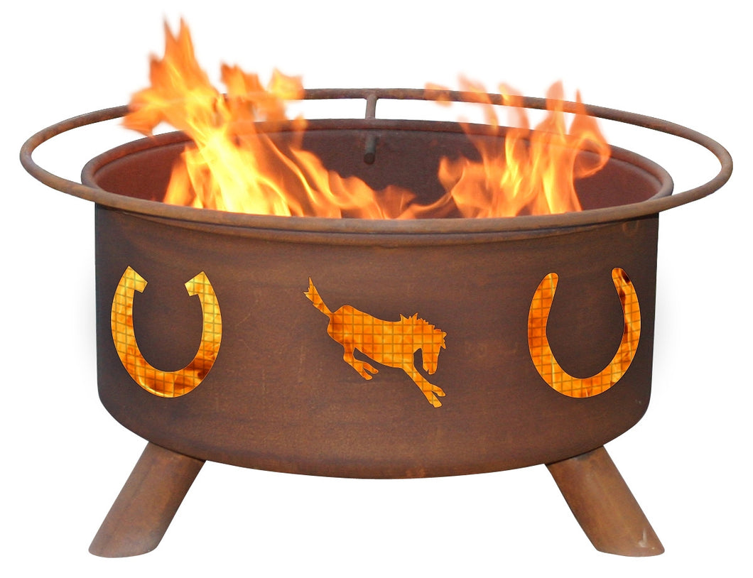 Horseshoes Fire Pit, Fireplace - Yardify.com
