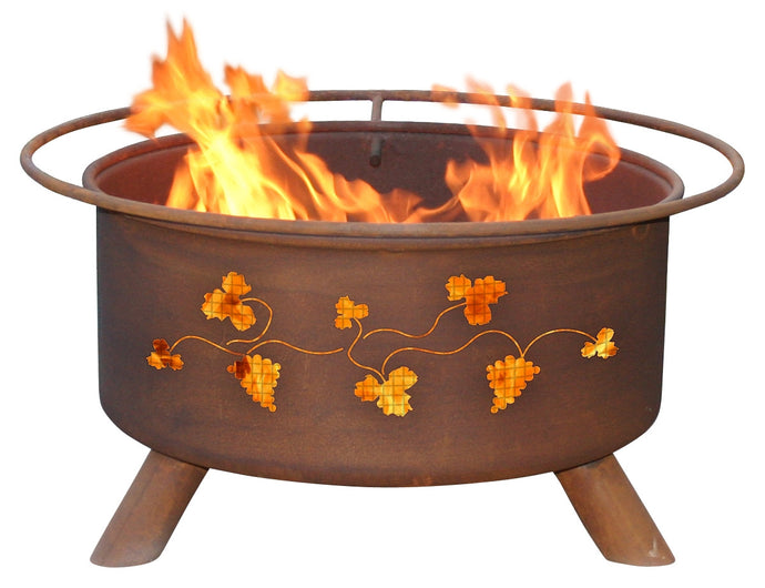 Grapevines Fire Pit, Fireplace - Yardify.com