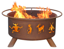 Kokopelli Fire Pit, Fireplace - Yardify.com