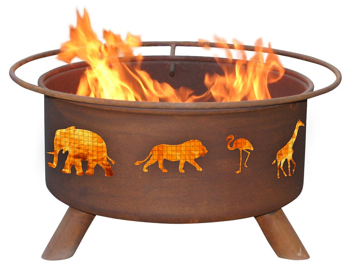 Safari Fire Pit, Fireplace - Yardify.com