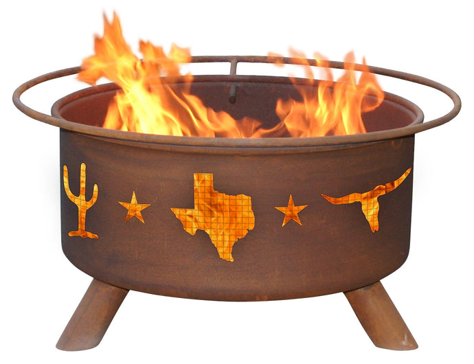 Lone Star - Texas Fire Pit, Fireplace - Yardify.com
