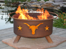 Load image into Gallery viewer, Texas Longhorn Fire Pit, Fireplace - Yardify.com