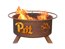 Load image into Gallery viewer, Collegiate Pittsburgh State Logo Fire Pit, Fireplace - Yardify.com