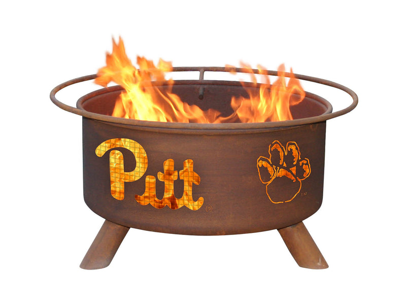 Collegiate Pittsburgh State Logo Fire Pit