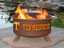 Load image into Gallery viewer, Collegiate Tennessee Logo Fire Pit, Fireplace - Yardify.com