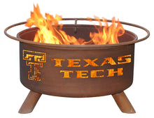 Collegiate Texas Tech Logo Fire Pit, Fireplace - Yardify.com