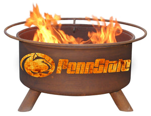 Collegiate Penn State Logo Fire Pit, Fireplace - Yardify.com
