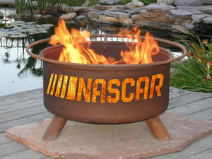 NASCAR Fire Pit, Fireplace - Yardify.com