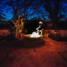 Load image into Gallery viewer, Fire Surfer - Stainless Steel Fire Pit Art