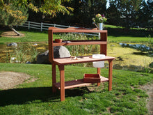 Wood Country Master Gardener's Bench, Picnic Table - Yardify.com