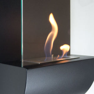Nu-Flame Torcia Wall-Mounted Ethanol-Burning Fireplace (NF-W3TOA), Fireplace - Yardify.com