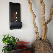 Load image into Gallery viewer, Nu-Flame Torcia Wall-Mounted Ethanol-Burning Fireplace (NF-W3TOA), Fireplace - Yardify.com