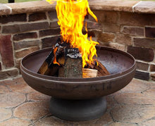 Load image into Gallery viewer, Ohio Flame Liberty Fire Pit with Angular Base, Fireplace - Yardify.com