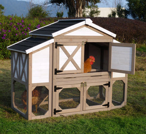 Country Style Chicken Coop House, Chicken Coop - Yardify.com