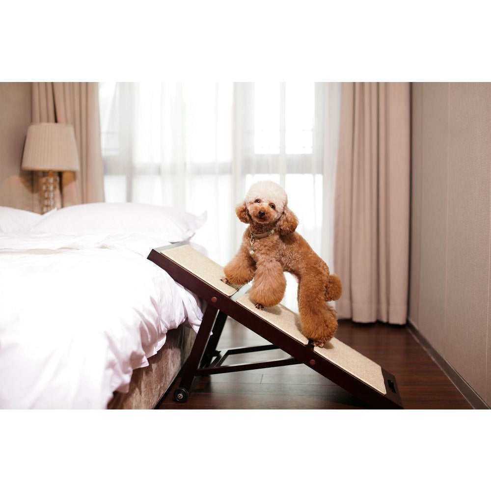 Collapsible Folding Pet Ramp for Indoor, dog - Yardify.com