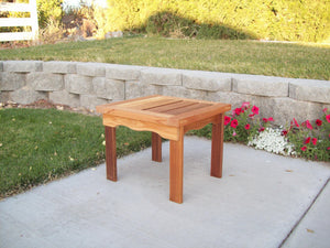 Wood Country T&L End Table - Welcome to Yardify - 1