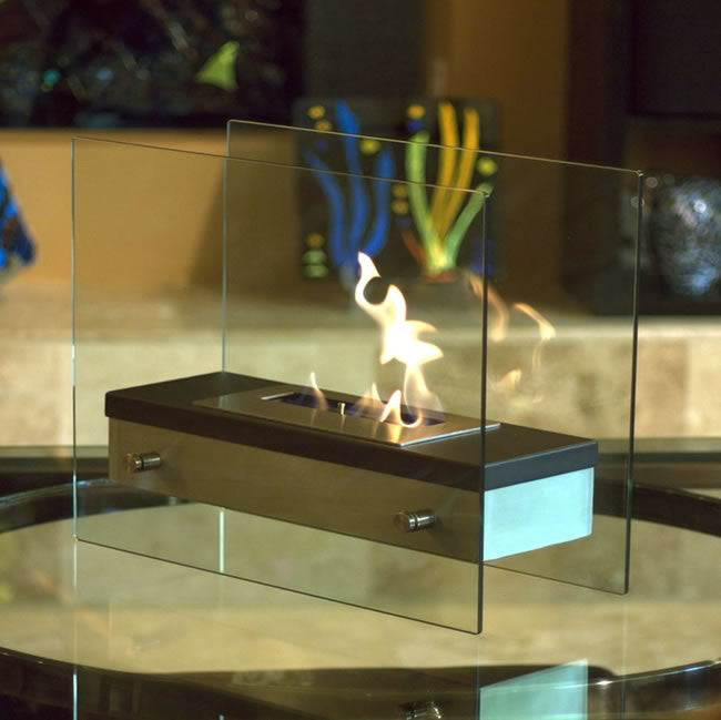 Caldo Modern Tabletop Fireplace - Yardify.com
