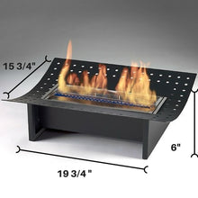 Load image into Gallery viewer, Eco-Feu XL Insert Ethanol Traditional Fireplace - Stainless Steel (FS-00116-SS), Fireplace - Yardify.com