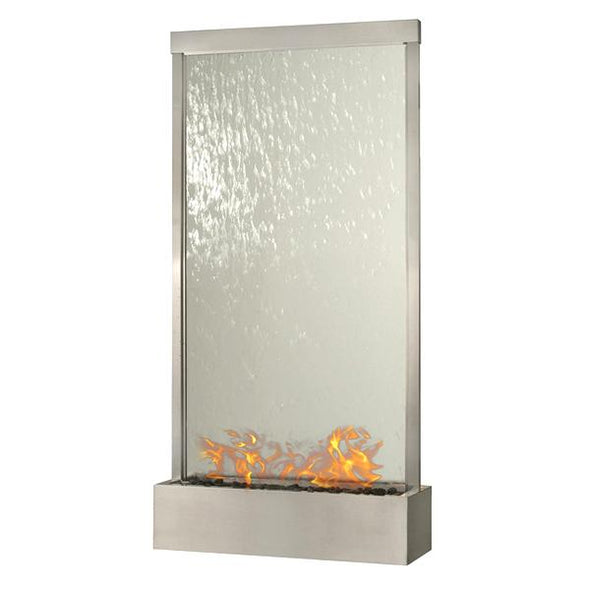 Nu-Flame Grande Ethanol Fire-Fountain - 8 Ft or 10 Ft (GR8SC-FIRE, GR10SC-FIRE), Fireplace - Yardify.com