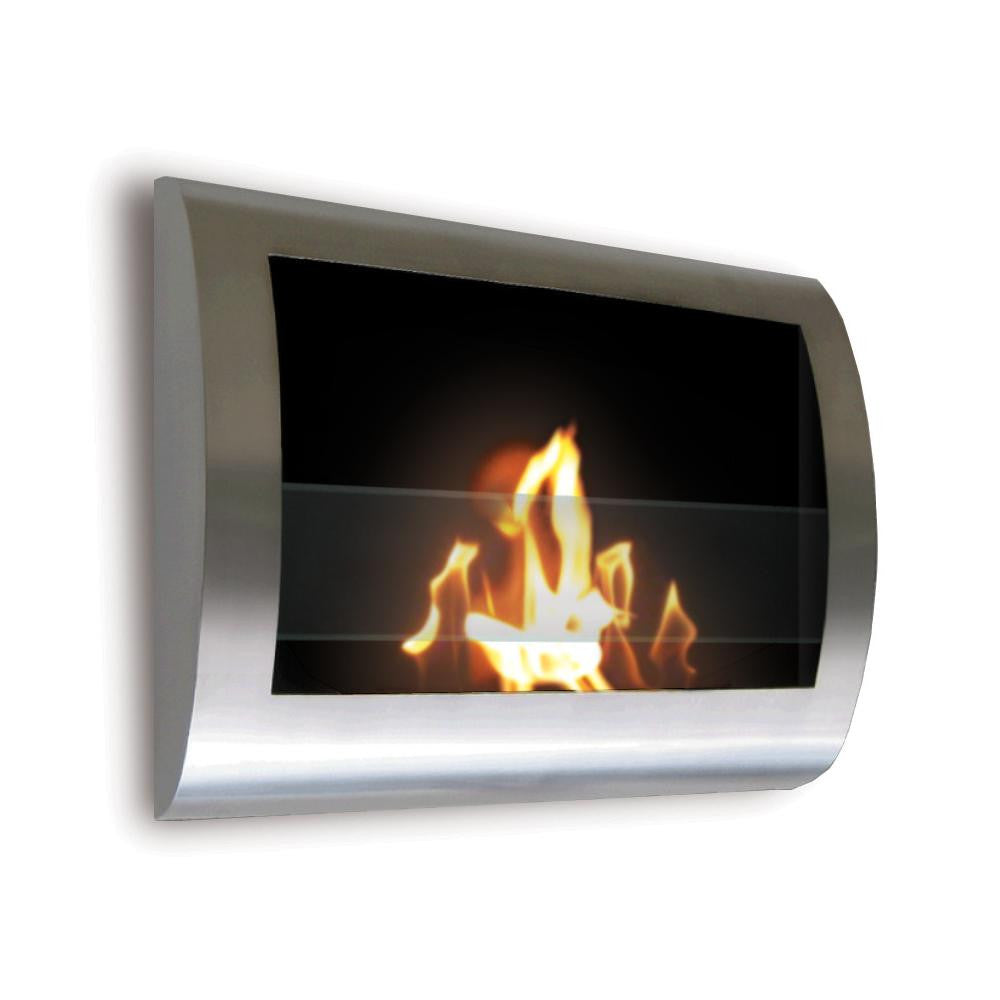 Anywhere Chelsea Wall Mounted  Ethanol Fireplace - 3 Colors, Fireplace - Yardify.com