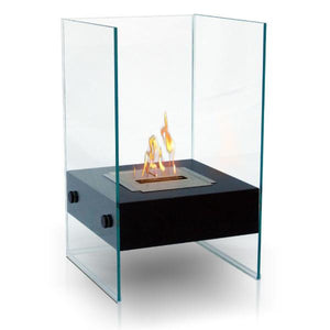 Anywhere Hudson Ventless Free Standing Ethanol Fireplace, Fireplace - Yardify.com
